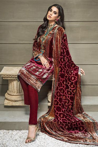 Gul Ahmed Velvet Collection -25