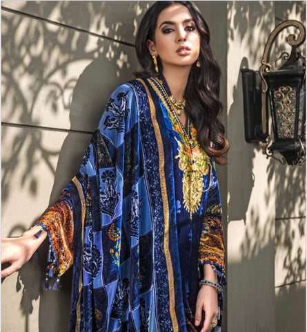 Gul Ahmed Velvet Collection -23