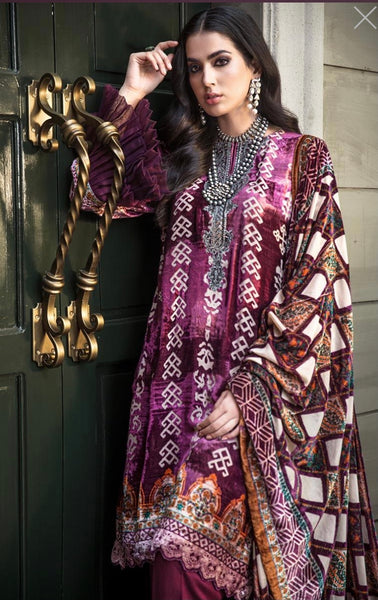 Gul Ahmed Velvet Collection -22