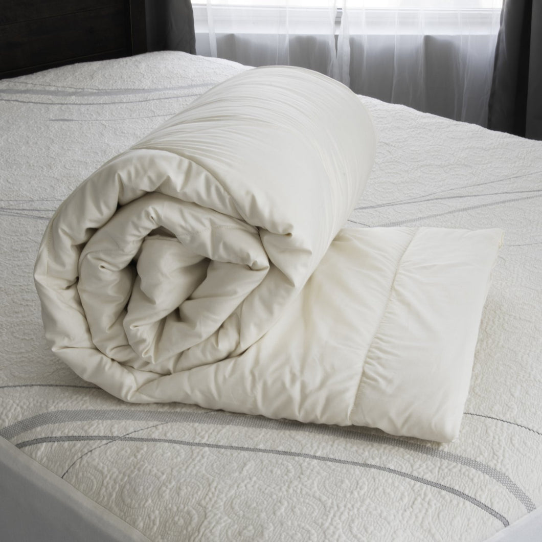 Natural Washable Wool Comforter