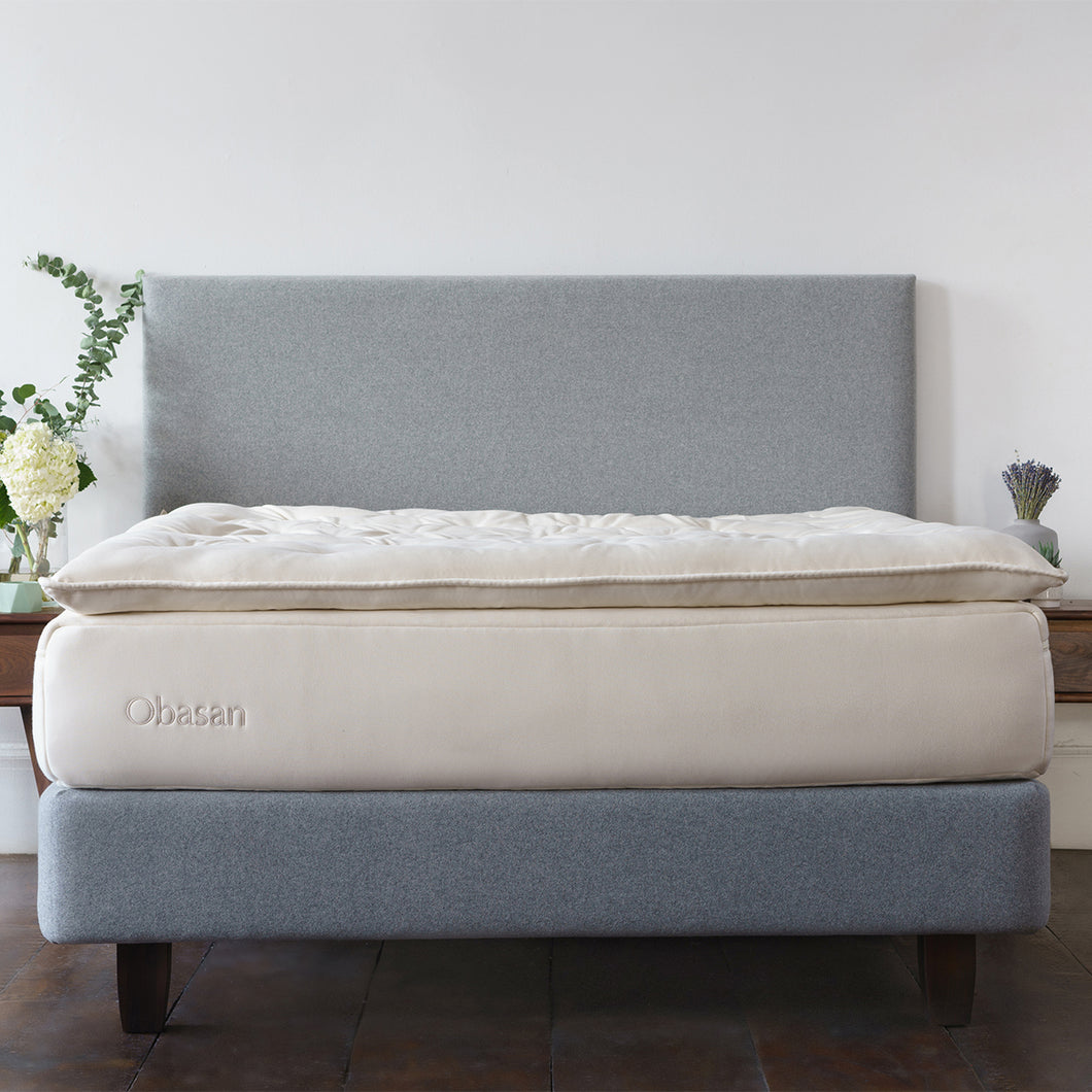 Obasan Organic Wool Mattress Topper