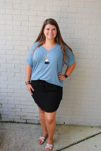 Midnight Memories Skirt : Curvy