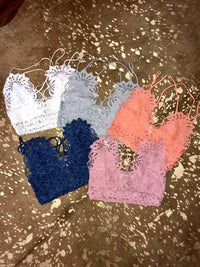 Free People Inspired Lace Bralette