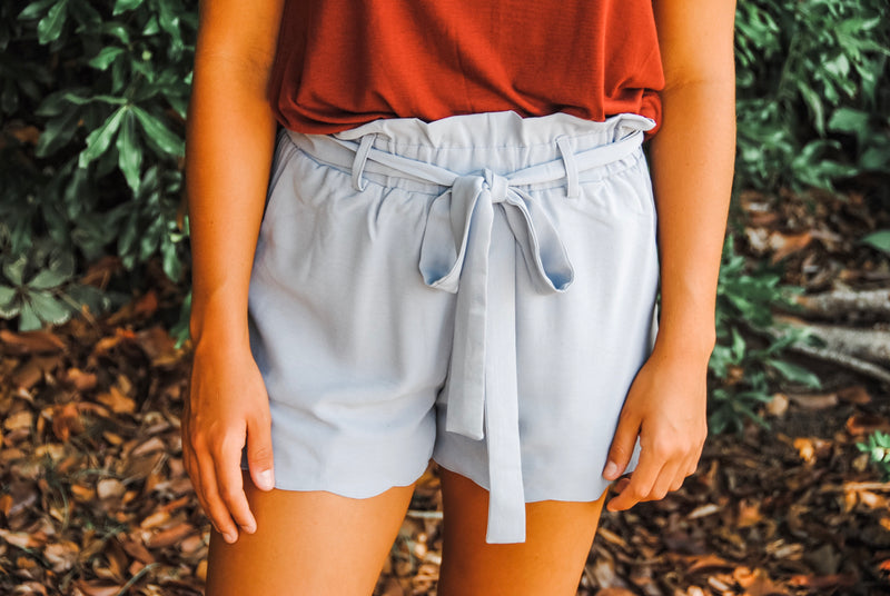 By the Beach Scallop Shorts