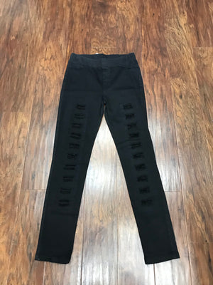 Ripped Jegging (Black)