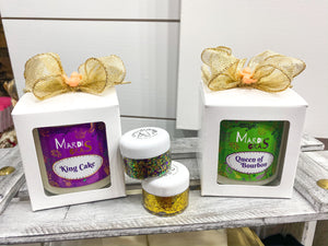 Bourbon Royalty Mardi Gras Collection Candles