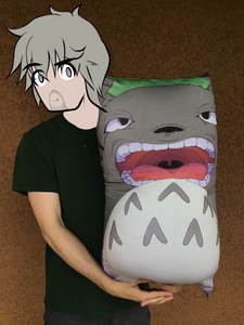 Totoro Belly Pillow