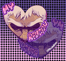 Load image into Gallery viewer, Original Character/My Religion【Eyebrows】Double Epoxy Charm