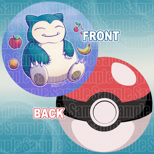 Pokemon【Snorlax】Character Pillow
