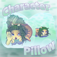 Load image into Gallery viewer, Original Character/Napping Nightmares【Suchin the Betta】Character Pillow