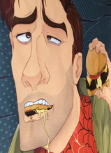 Load image into Gallery viewer, Spiderman Into the Spiderverse【Peter B. Parker】Double Sided Pillowcase