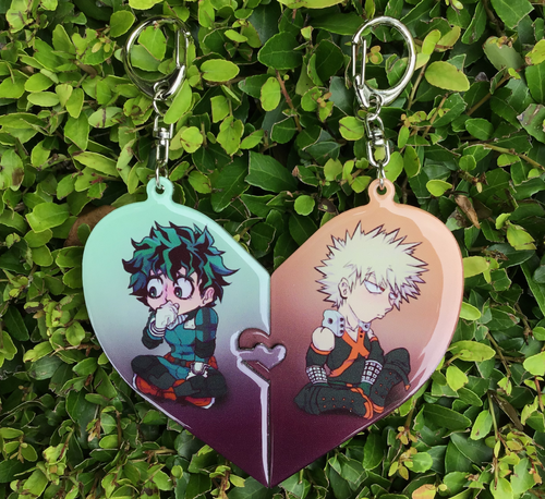 BnHA OTP Interlocking Double Epoxy Charm