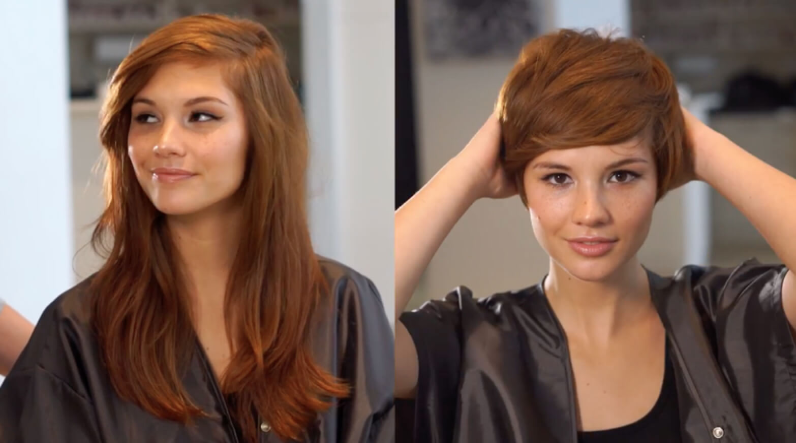 Dramatic Pixie Haircut Transformation with Emily Anderson