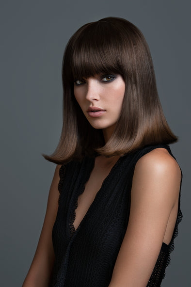 Runway Inspired Bangs