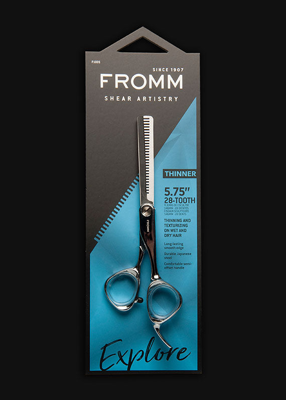"Explore 5.75"" 28 Tooth Hair Thinning Shears"