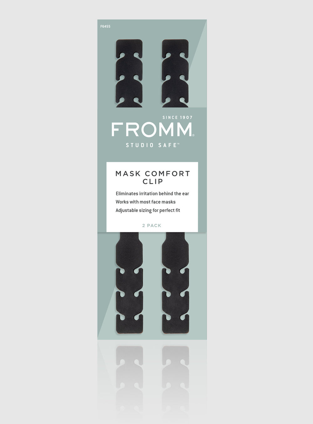 Fromm Pro Professional Salon Face Mask Comfort Extender Clips in packaging