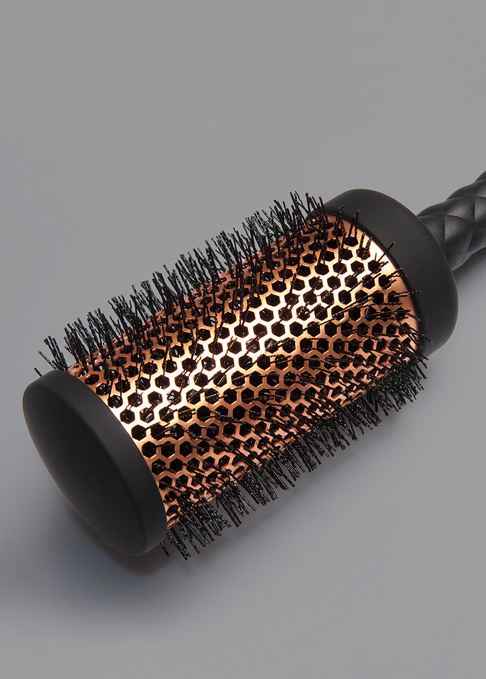 "Heat Duo 1.25"" Copper Round Brush"