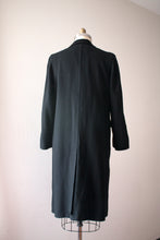 Load image into Gallery viewer, vintage 1930s black wool coat