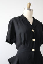 Load image into Gallery viewer, vintage 1940s asymmetrical sports shirt