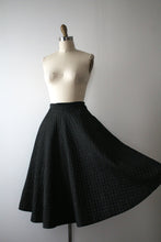 Load image into Gallery viewer, vintage 1950s quilted skirt