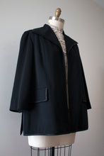 Load image into Gallery viewer, vintage 1960s Lilli Ann Knits black jacket
