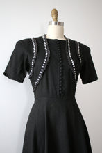 Load image into Gallery viewer, vintage 1940s Carlye dress