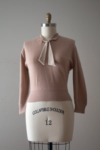 vintage 1960s pullover sweater