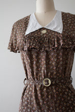 Load image into Gallery viewer, vintage 1930s depression era dress