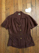 Load image into Gallery viewer, vintage 1930s 40s work shirt