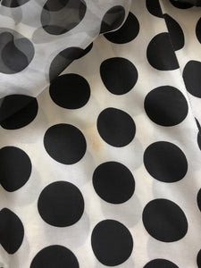 vintage 1950s polka dot dress