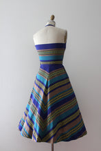 Load image into Gallery viewer, vintage 1950s halter dress