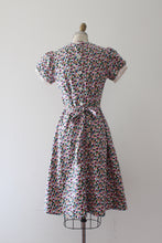 Load image into Gallery viewer, vintage 1930s colorful cotton day dress