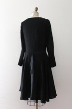 Load image into Gallery viewer, vintage 1920s black deco dress