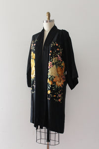 R E S E R V E D vintage 1920s embroidered robe