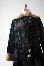 Load image into Gallery viewer, antique 1910s Edwardian faux fur coat