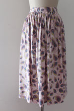 Load image into Gallery viewer, CLEARANCE vintage 1950s feather print skirt