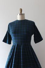 Load image into Gallery viewer, vintage 1950s fleece dress