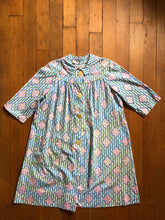 Load image into Gallery viewer, vintage 1930s 40s cotton smock dress
