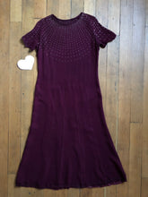Load image into Gallery viewer, vintage 1930s STUDDED dress