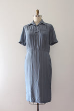 Load image into Gallery viewer, CLEARANCE vintage 1950s blue dress