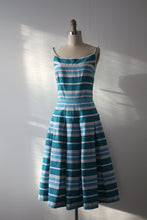 Load image into Gallery viewer, vintage 1950s Horrockses sun dress and jacket set