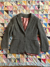 Load image into Gallery viewer, vintage 1940s tweed blazer