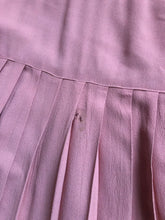 Load image into Gallery viewer, vintage 1940s dusty pink dress set