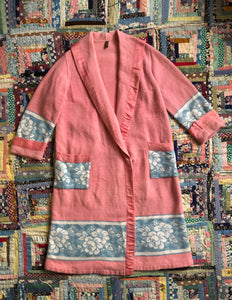 vintage 1920s Beacon Blanket robe