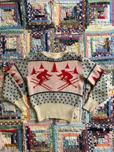 Load image into Gallery viewer, vintage 1940s ski sweater