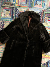 Load image into Gallery viewer, vintage 1920s faux fur coat