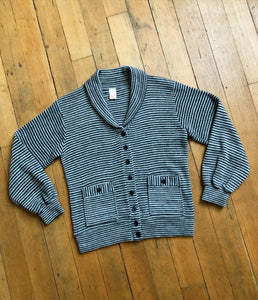 vintage 1980s Jantzen shawl collar sweater