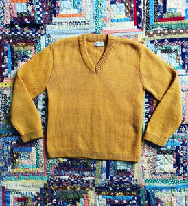 vintage 1940s V neck sweater