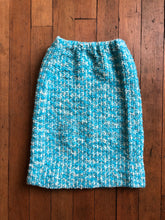 Load image into Gallery viewer, vintage 1960s knit skirt