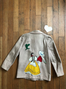 vintage 1940s Mexican inspired embroidered jacket